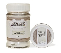 Bo Bunny - Essentials - White Crackle Paste
