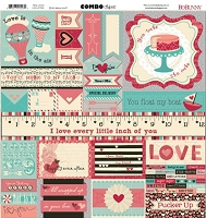Bo Bunny - Love Letters Collection - 12