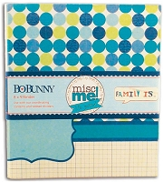 Bo-Bunny - Misc Me! - 8x9 Binder - Family Is