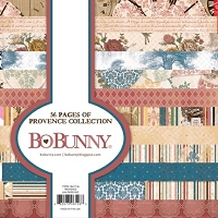 Bo Bunny - Provence Collection - 6x6 Paper Pads :)