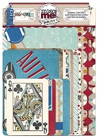 Bo Bunny - Misc Me! - Wild Card Journal Contents