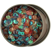 28 Lilac Lane/Buttons Galore - Sequin Tin - Pastels (6mm)