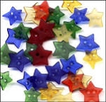 Clear Star Buttons - Primary
