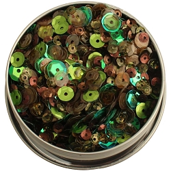 28 Lilac Lane/Buttons Galore - Sequin Tin - Redwood Grove