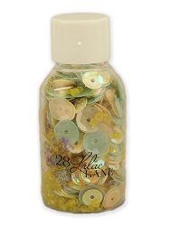 28 Lilac Lane/Buttons Galore - Bead & Sequin Mix - Chamomile Dreams