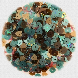 28 Lilac Lane/Buttons Galore - Premium Sequins - Thankful