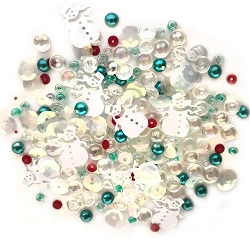 Buttons Galore - Sparkletz - Frosty Friends