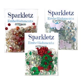 Buttons Galore - New Sparkletz (shaker card fillers)
