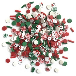 Buttons Galore - Sprinkletz - Saint Nick