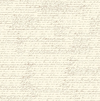 Canvas Corp - 12x12 Cardstock - Tan and Ivory French Script