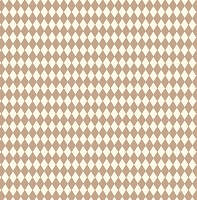 Canvas Corp - 12x12 Cardstock - Tan and Ivory Diamond