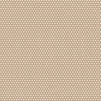 Canvas Corp - 12x12 Cardstock - Tan and Ivory Mini Dot Reverse
