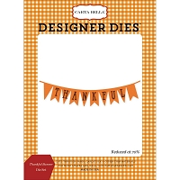 Carta Bella - Autumn Collection - Thankful Banner Die