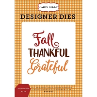 Carta Bella - Autumn Collection - Autumn Words Die Set