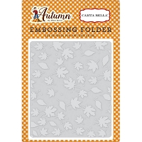 Carta Bella - Autumn Collection - Crisp Autumn Embossing Folder