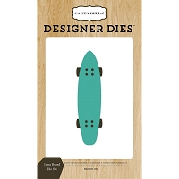 Carta Bella - Beach Day Collection - Long Board Die