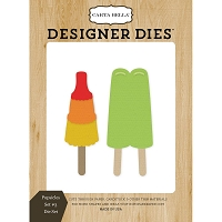 Carta Bella - Beach Day Collection - Popsicles Set #3 Dies