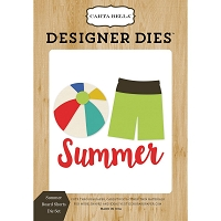 Carta Bella - Beach Day Collection - Summer Board Shorts Dies