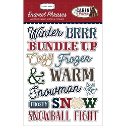 Carta Bella - Cabin Fever Collection - Enamel Words