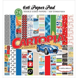 Carta Bella - Cartopia Collection - 6x6 Paper Pad
