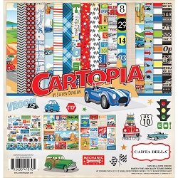 Carta Bella - Cartopia Collection - Collection Kit