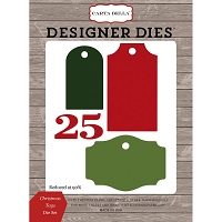 Carta Bella - Christmas Delivery Collection - Christmas Tags Die Set