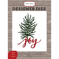 Carta Bella - Christmas Delivery Collection - Joyful Pine Die Set