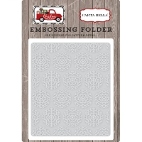 Carta Bella - Christmas Delivery Collection - Snowflake #1 Embossing Folder