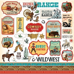Carta Bella - Cowboy Country Collection - 12