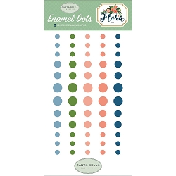 Carta Bella - Flora No. 2 Collection - Enamel Dots