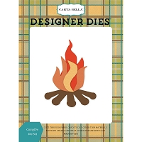 Carta Bella - The Great Outdoors Collection - Campfire Die