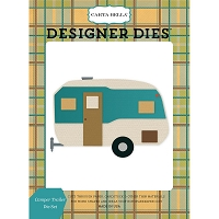 Carta Bella - The Great Outdoors Collection - Camper Trailer Die