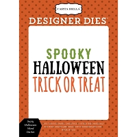 Carta Bella - Haunted Collection - Scary Halloween Words Die Set