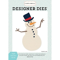Carta Bella - Snow Fun Collection - Joyful Snowman Die