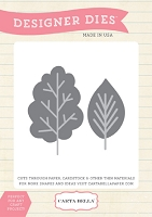 Carta Bella - Designer Dies - All Bundled Up Collection - Tree die set
