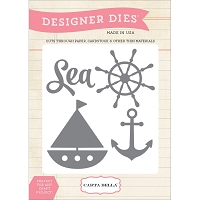 Carta Bella - Designer Dies - Sea, Ship, Anchor :)