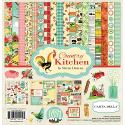 Carta Bella - Country Kitchen Collection - Collection Kit