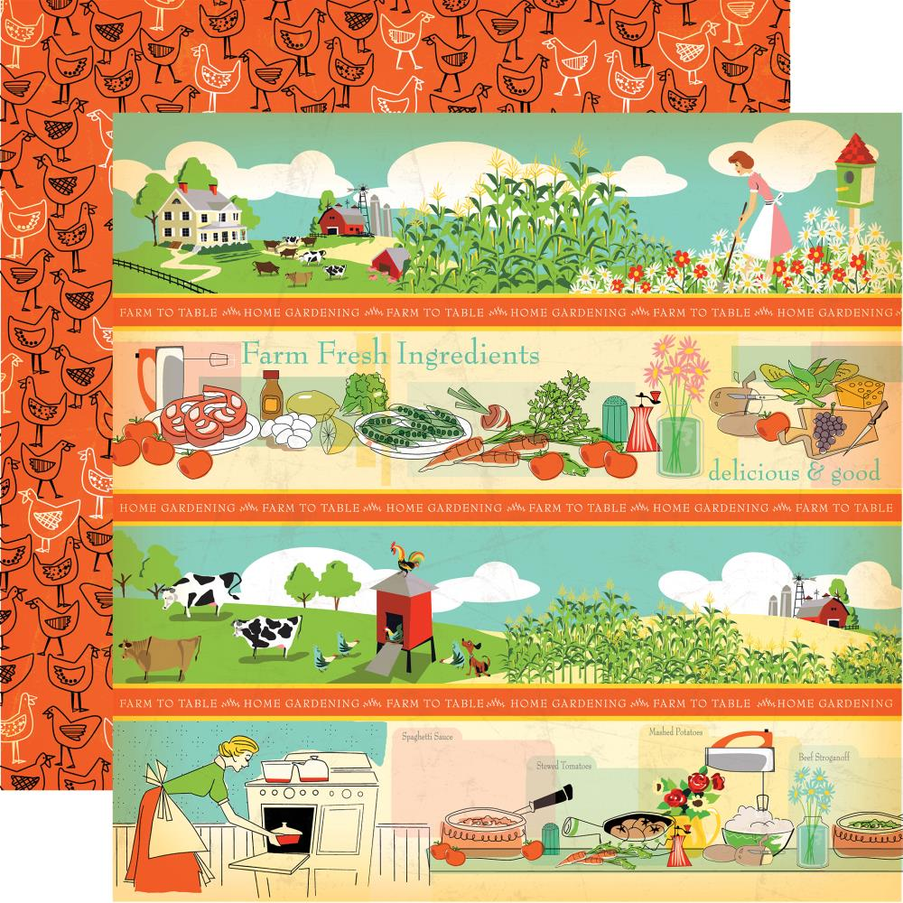 Carta Bella - Country Kitchen Collection - 12\