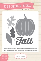 Carta Bella - Fall Blessings Collection - Fall Harvest Die Set