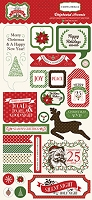 Carta Bella - Have A Merry Christmas Collection - 6x12 Chipboard