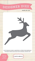 Carta Bella - Have A Merry Christmas Collection - Santa's Reindeer Designer Die