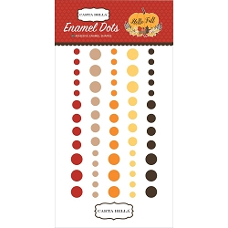 Carta Bella - Hello Fall Collection - Enamel Dots