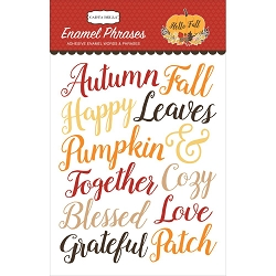 Carta Bella - Hello Fall Collection - Enamel Words