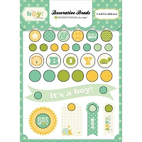 Carta Bella - It's a Boy Collection - Decorative Brads