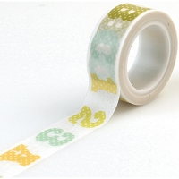 Carta Bella - It's a Boy Collection - Decorative Tape - ABC/123