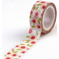Carta Bella - It's a Girl Collection - Decorative Tape - Floral