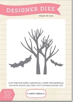 Carta Bella - Spooky Collection by Carina Gardner - Designer Dies - Spooky Trees :)
