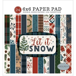 Carta Bella - Let It Snow Collection - 6x6 Paper Pad