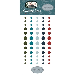Carta Bella - Let It Snow Collection - Enamel Dots