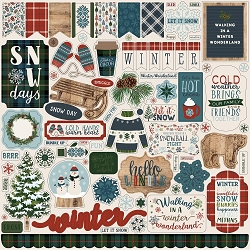 Carta Bella - Let It Snow Collection - 12